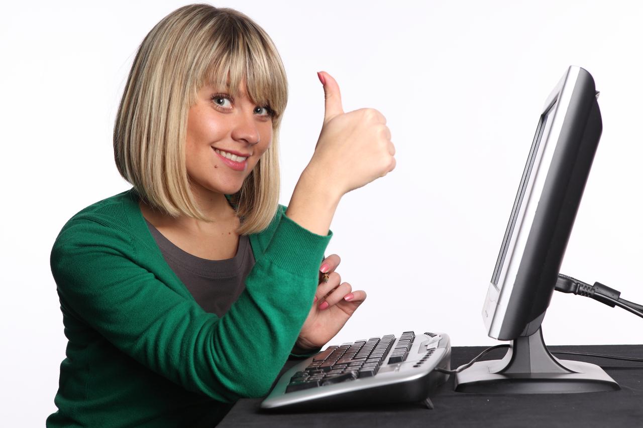 Фото девушки из интернет рекламы