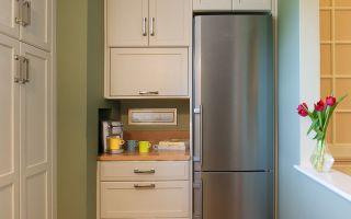 Где поставить холодильник на маленькой кухне
