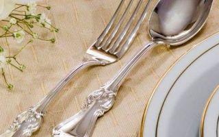 Как почистить столовое серебро и не испортить его