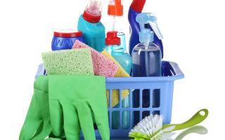 Где хранить моющие средства безопасно для детей