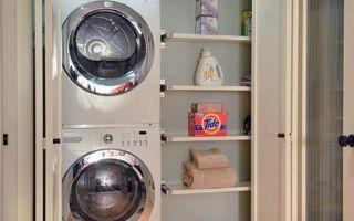 Неожиданные идеи для размещения стиральной машины