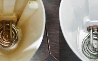 Пошаговая инструкция по очистке электрического чайника от накипи