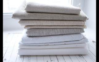 Как правильно стирать изделия из натурального льна