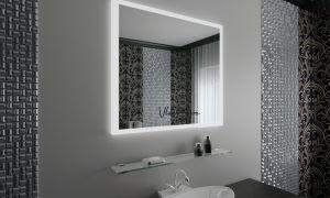 Креативное оформление зеркал в ванной комнате