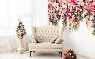 Где разместить цветочную композицию