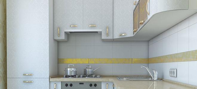 Как спланировать дизайн кухни в хрущевке с холодильником
