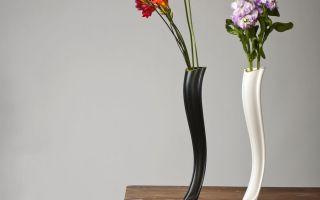 Как разместить вазу для цветов в интерьере