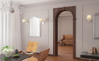 5 советов по оформлению дверного проема без двери