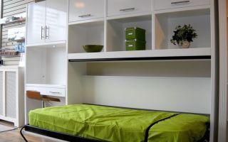 Как спрятать кровать в однокомнатной квартире