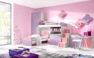 Цвет в детской комнате