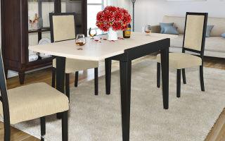 Раскладные кухонные столы — отличный вариант для небольшого помещения