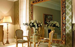 Как визуально расширить пространство комнаты с помощью зеркал и освещения