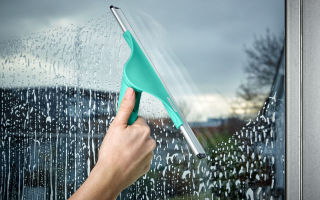 Чем нельзя чистить пластиковые окна