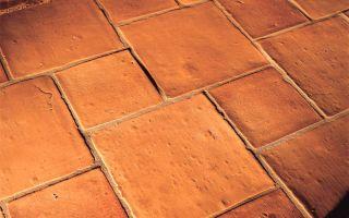 Терракотовая плитка — ухаживаем правильно