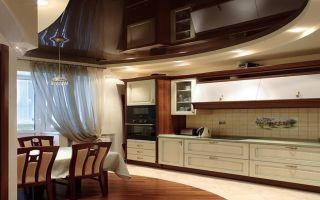 Натяжные потолки на кухне — как выбрать и что предусмотреть