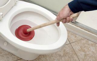 Как самостоятельно прочистить засор в канализации