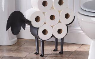 Внимание к мелочам — кованые держатели для туалетной бумаги