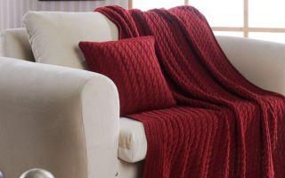 Как выбрать красивый плед для дивана и кровати