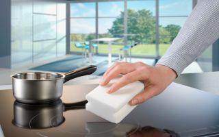 Как отмыть варочную поверхность быстро и без усилий