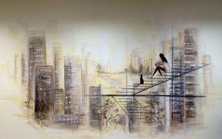 Ручная роспись стен — идеи для отделки своими руками