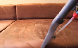 Как удалить следы крови с мягкой мебели