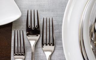 5 критериев выбора столовых приборов