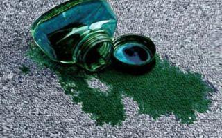 Удаляем застарелые пятна от зеленки и йода