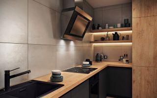 Когда можно обойтись без верхних шкафов на кухне