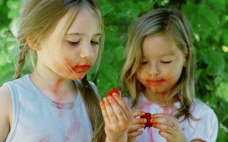 6 средств вывести пятна от фруктов и ягод с детской одежды