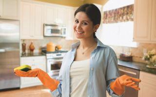 Как удалить пятна от жира с мебели