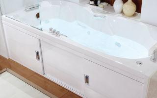 Что такое раздвижной экран под ванну