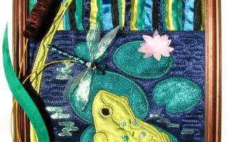 Картины из ткани — как создать своими руками украшение интерьера