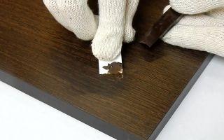 Как замаскировать неглубокие царапины и сколы напольного покрытия