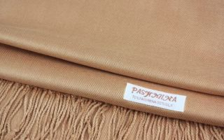 Как правильно почистить шаль из натурального кашемира