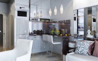 Интерьер в маленькой квартире-студии. Как расширить границы дозволенного?