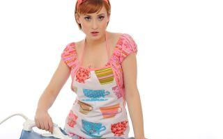 Как убрать след от утюга на одежде из разных тканей