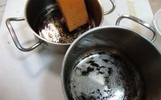 Как отмыть пригоревшее варенье в эмалированной кастрюле