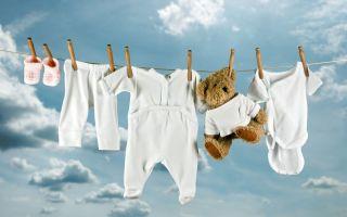 Какой стиральный порошок выбрать для детских вещей