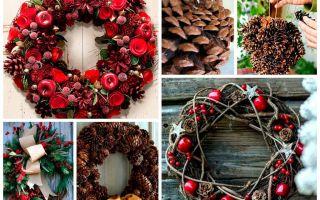 5 идей рождественского венка своими руками