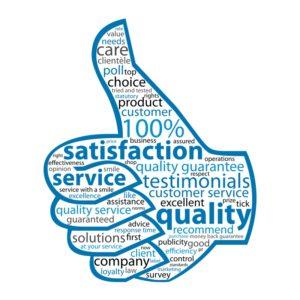 качество предоставляемых услуг