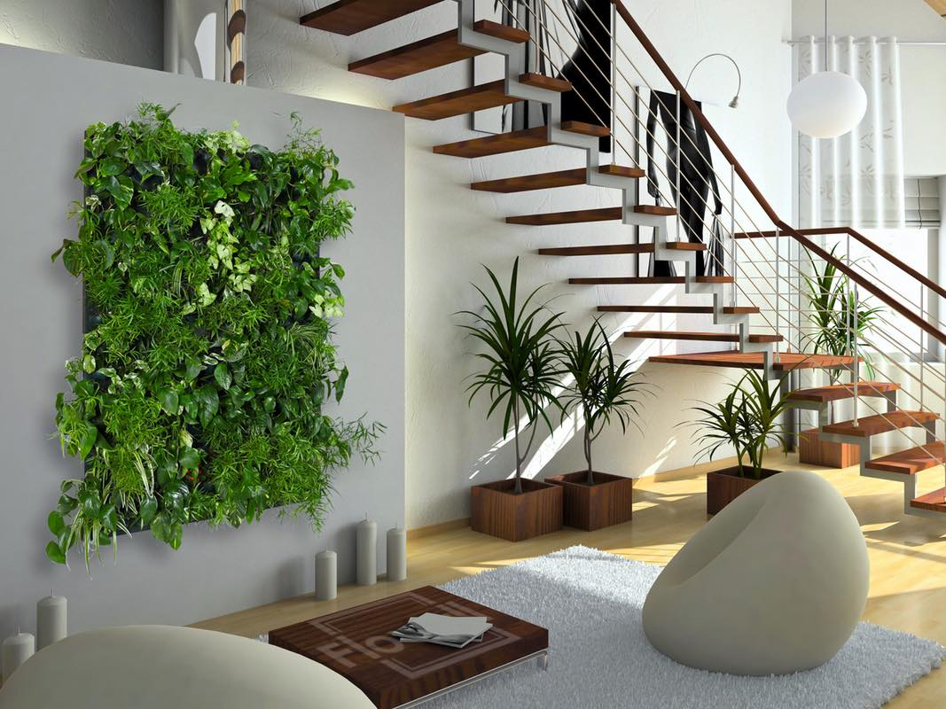 Нетрадиционные решения для декорирования стен помещения