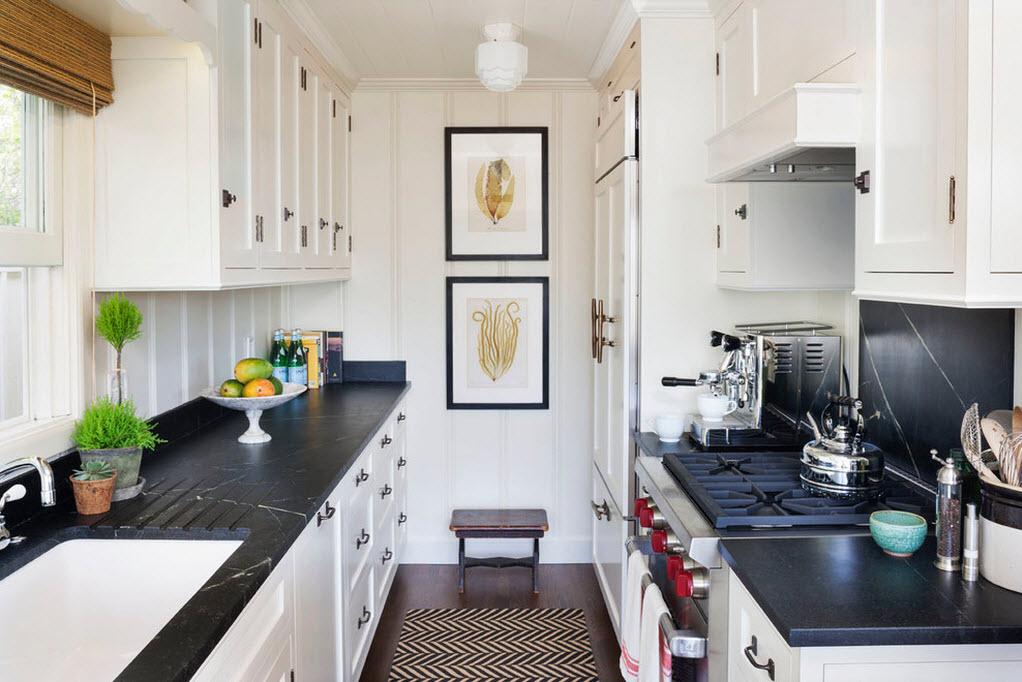4 идеи для интерьера маленькой кухни