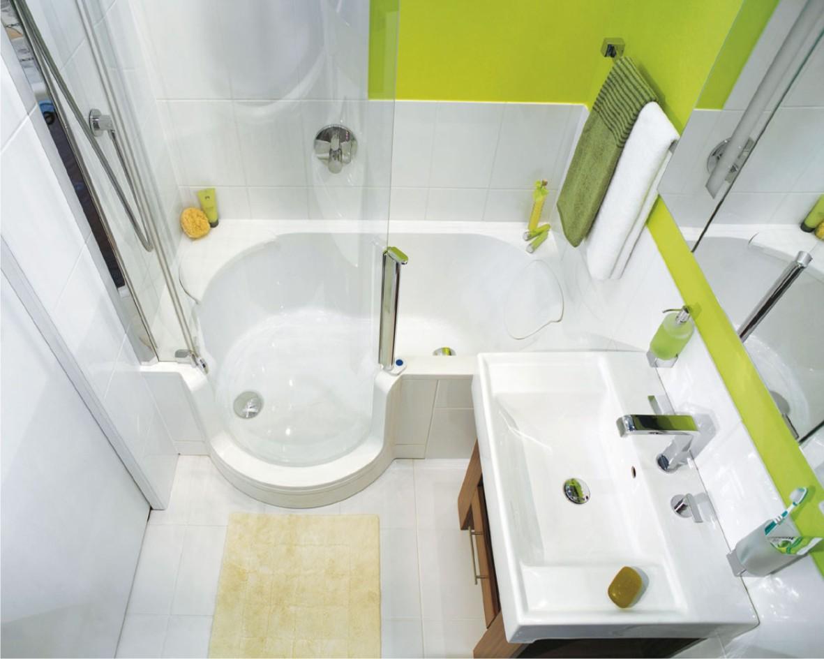 Маленькая ванная комната — комфортное обустройство