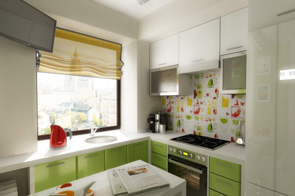 Все о дизайне кухни в хрущевке