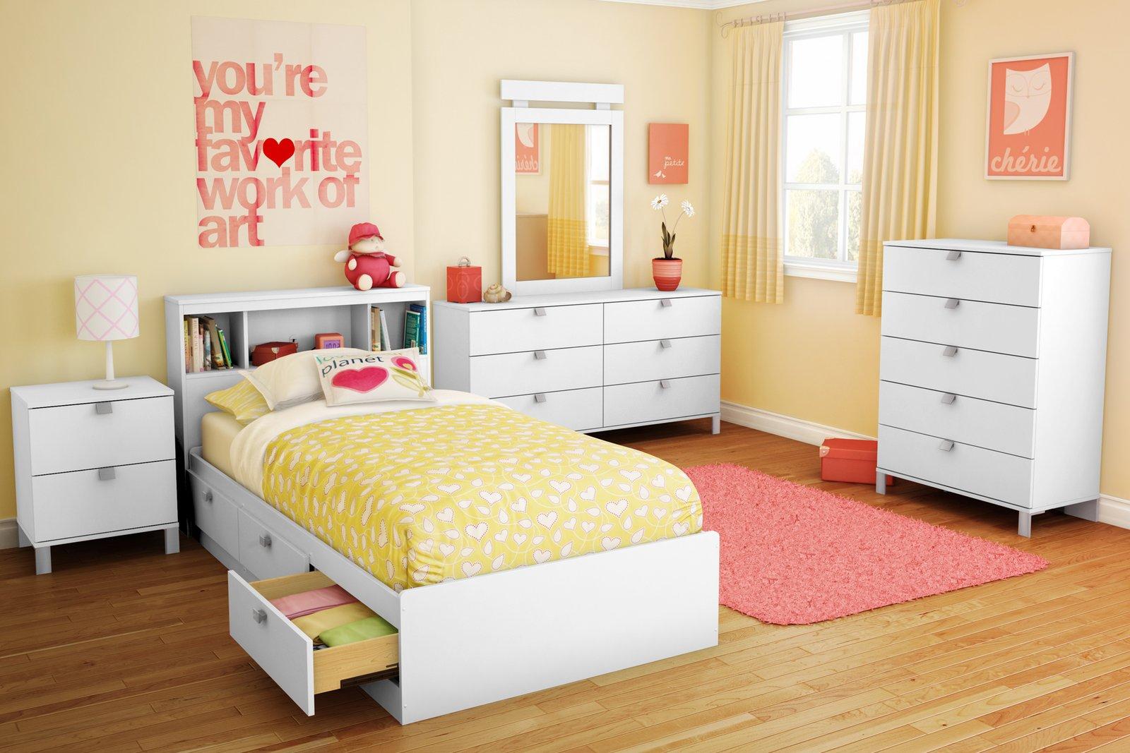 Желтые цвета в интерьере спальни