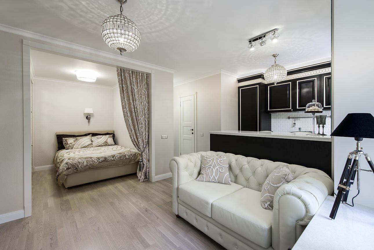 Как обустроить однокомнатную квартиру?