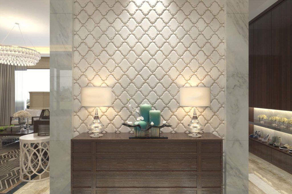 Орнаменты и узоры в интерьере гостиной