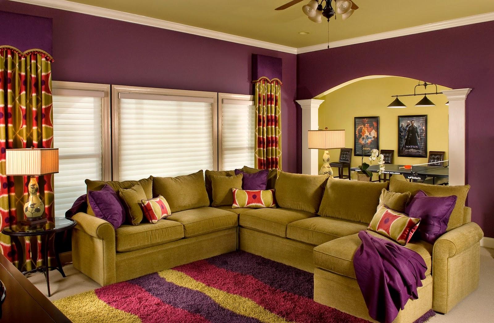Цветовое решение дизайна квартиры фото