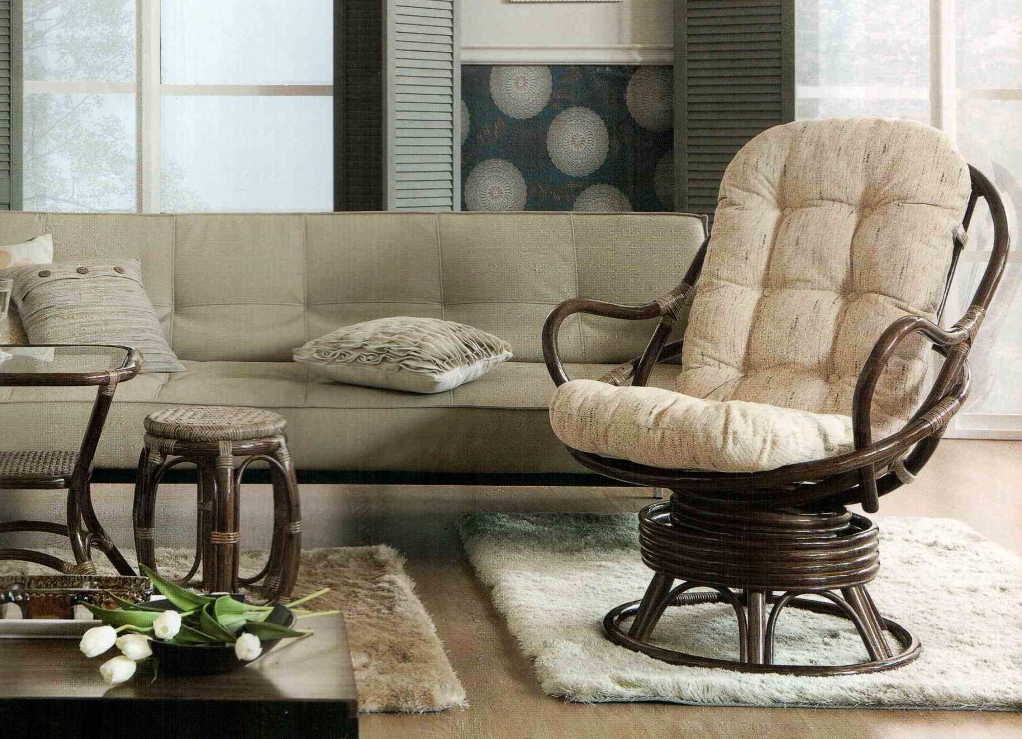 Правильно ухаживаем за плетеной мебелью