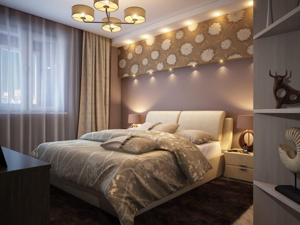 Несколько советов по обустройству маленькой спальни